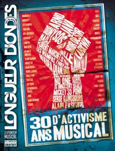 Couverture 30 ans d'activisme musical - Longueur d'ondes