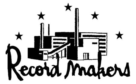 Logo Record Makers noir et blanc