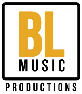 Logo BL Music Productions noir