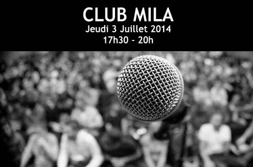 Club Mila | 3 Juillet